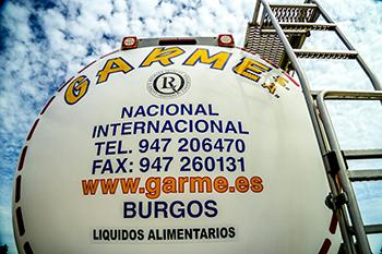 Transportes de liquido alimentario