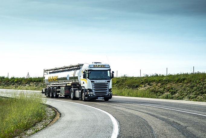 Transport flüssiger Lebensmittel  EUROPE
