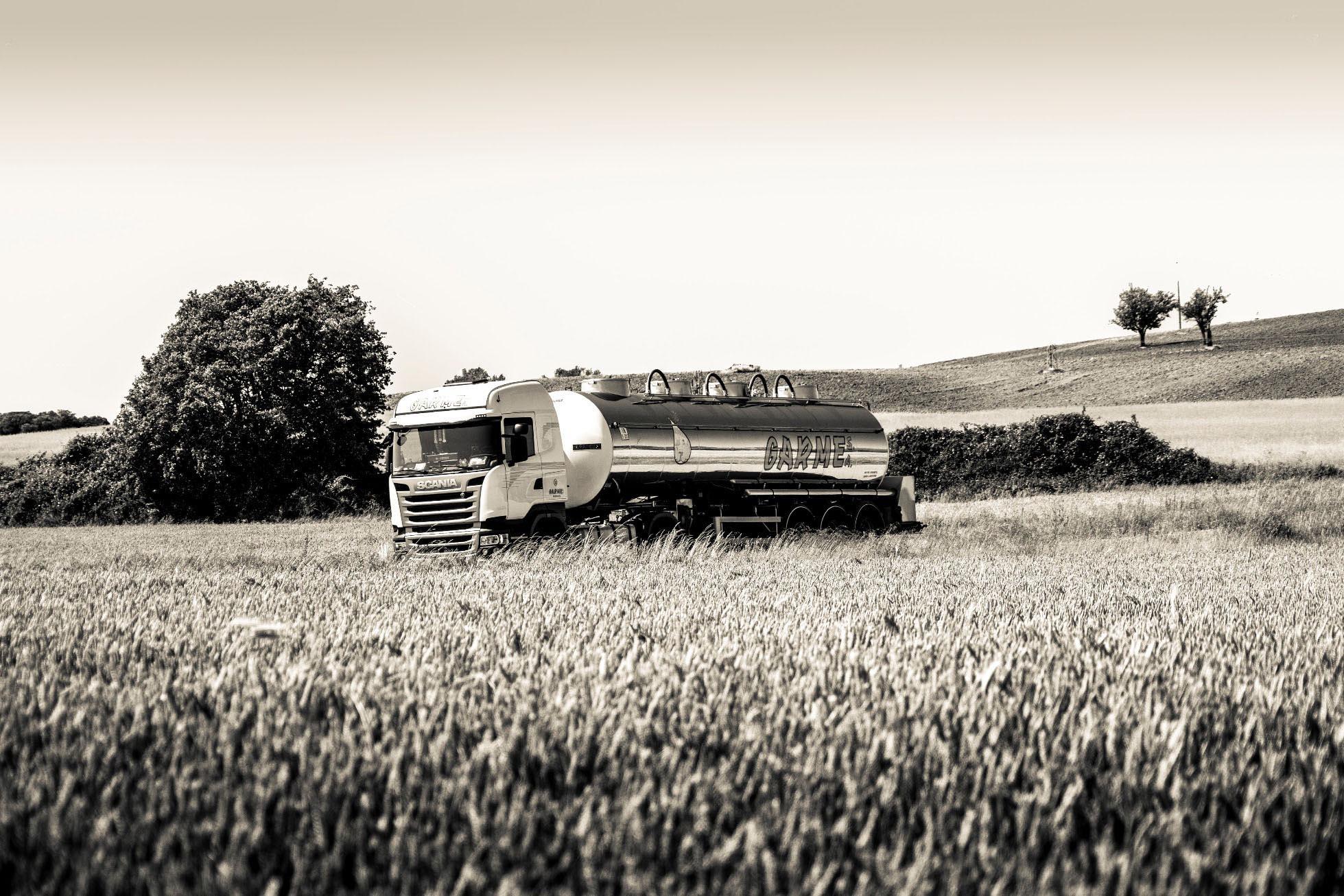 Transporte cisternas alimentarias europa GARME